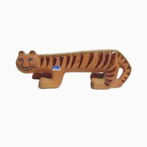 Tigre in ceramica di Lisa Larson per Gustavsberg, anni '70