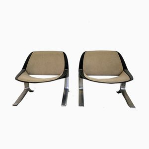 Lounge Chairs by Knut Hesterberg for Selectform, 1970s, Set of 2