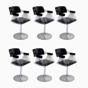 Delta Dining Chairs by Rudi Verelst for Novalux, 1970s, Set of 6