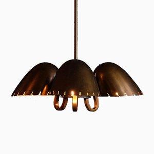 Lámpara colgante de Carl-Axel Acking para Böhlmarks, años 40