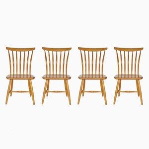 Chairs by Bengt Åkerblom & Gunnar Eklöf for Åkerblom, 1950s, Set of 4