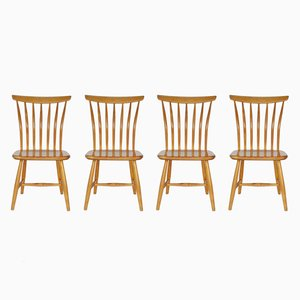 Stühle von Bengt Åkerblom & Gunnar Eklöf für Åkerblom, 1950er, 4er Set