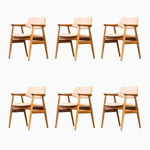 Armchairs by Svend Aage Eriksen for Gløstrup Møbelfabrik, 1960s, Set of 6