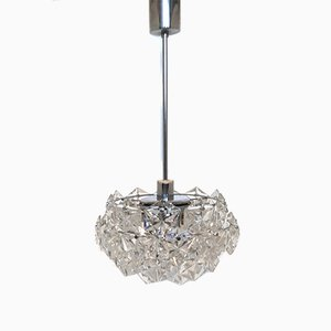 Vintage 4-Tiered Crystal Chandelier from Kinkeldey, 1960s