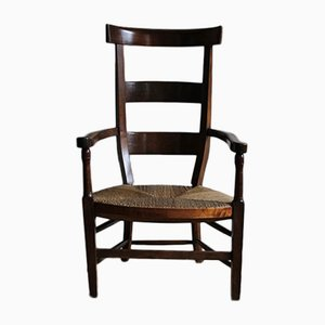 Highback Directoire Chair in Cherrywood, 1790s