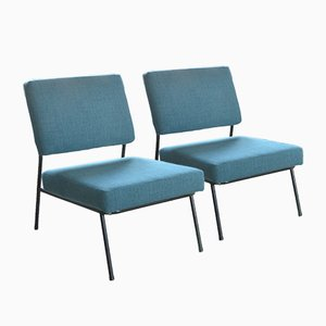 Chaises Mid-Century par Pierre Guariche pour Airborne, France, Set de 2