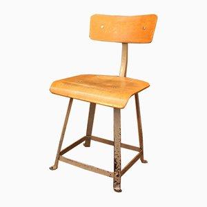 Werkstatt Stuhl von Biènaise, 1950er