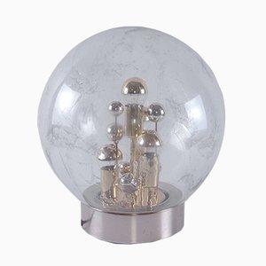 Mundgeblasene Modell 1472 Glaslampe mit goldenen Intarsien von Doria Leuchten, 1970er