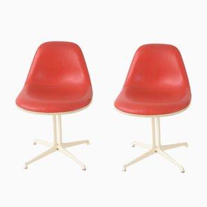 La Fonda Stühle von Charles & Ray Eames, 1960er, 2er Set