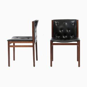 Esszimmerstühle aus Palisander von Lübke, 1960er, 4er Set