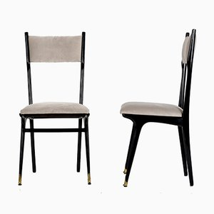 High Dining Chairs by Ico Parisi, 1950s, Set of 6