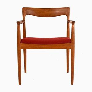 Beistellstuhl von Arne Vodder, 1960er