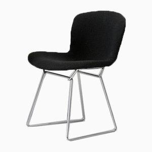 420-1 Stuhl mit verchromtem Gestell von Harry Bertoia für Knoll, 1970er
