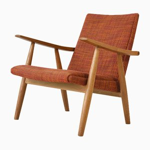 GE 260 Easy Chair by Hans J. Wegner for Getama, 1950s