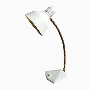 Lampada da scrivania grigia chiara, anni '50