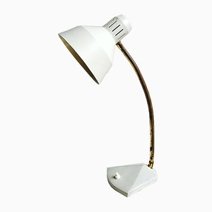 Lámpara de escritorio en gris oscuro, años 50