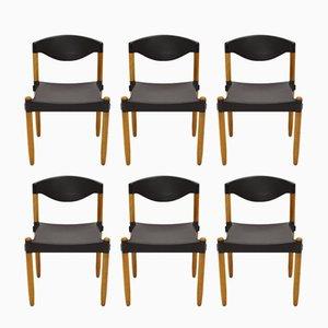 Stax Stühle von Hartmut Lohmeyer für Casala, 1981, 8er Set