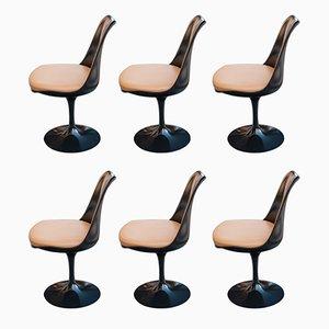 Vintage Tulip Chairs by Eero Saarinen for Knoll, Set of 6