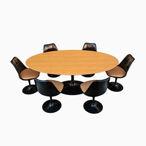Vintage Tulip Dining Room Set by Eero Saarinen for Knoll