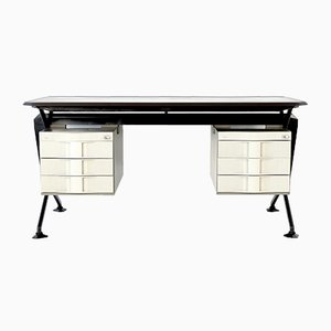 Arco Series Desk by BBPR for Olivetti Synthesis, 1963