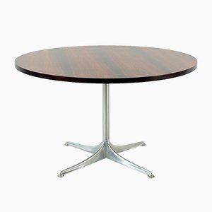 Tavolino impiallacciato in palissandro di Horst Brüning per Cor, 1966