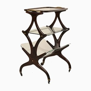 Tavolino con rotelle di Cesare Lacca per Cassina, 1955