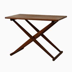 Mesa plegable pequeña de J.C. Andersen, años 60