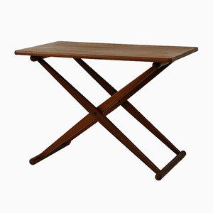 Small Folding Table from J.C. Andersen, 1960s