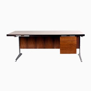 Rosewood Desk by Marius Byrialsen for Nipu, 1960s