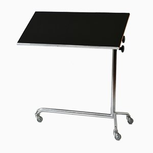 Swiss Adjustable Side Table, 1960s