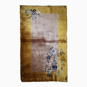 Alfombra china Art Déco tejida a mano, años 20