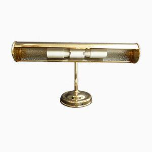 Messing Wandlampe, 1980er