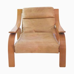 722 Woodline Armchair by Marco Zanuso for Cassina, 1970s