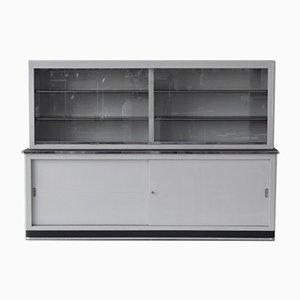Mueble de metal con puertas corredizas de Mauser Werke Waldeck, años 50