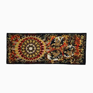 Vintage Aurore Wandteppich aus Wolle von J.C. Bissery für Aubusson, 1960er