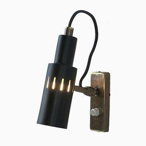 Verstellbare italienische Wandlampe, 1950er