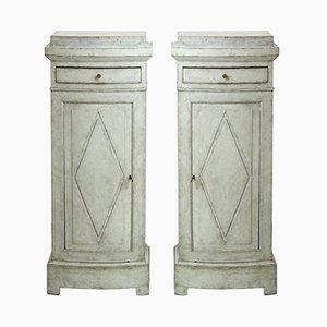 Mobiletti antichi, inizio XIX secolo, set di 2
