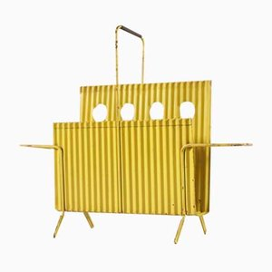 Java Magazine Rack by Mathieu Matégot, 1950