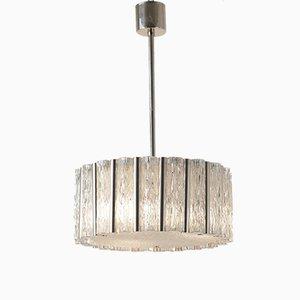 Lámpara colgante de cristal de Murano de Kaiser Leuchten, años 60