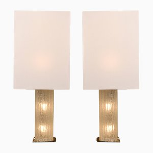 Austrian Large Table Lamps from Kalmar, 1960s, Set of 2