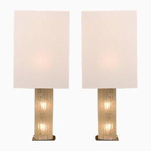 Österreichische große Tischlampen von Kalmar, 1960er, 2er Set