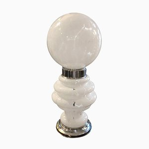Space Age Tischlampe von Carlo Nason für Mazzega, 1960er
