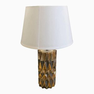 Mid-Century Modern Italian Ceramic Table Lamp, 1960s