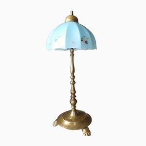 Vintage Messing Tischlampe
