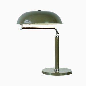 Lampe de Bureau Quick 1500 Vert Olive par Alfred Müller pour BAG Turgi, 1935