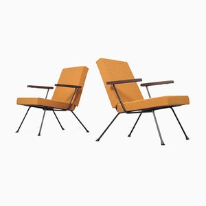 Vintage 1409 Lounge Chairs by Andre Cordemeijer for Gispen, Set of 2