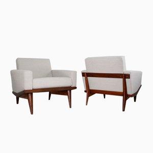 Scandinavian Modern Australia Lounge Chair by Illum Wikkelsø for H.W. Klein, 1960s