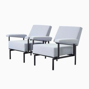 Vintage FM07 Lounge Chairs by Cees Braakman for Pastoe, Set of 2