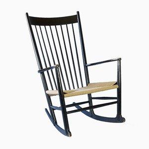 Rocking Chair J16 Mid-Century par Hans J. Wegner pour FDB