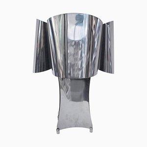 Metall Tischlampe, 1970er